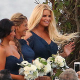 Jessica Simpson as Bridesmaid in Lauren Auslander's Wedding