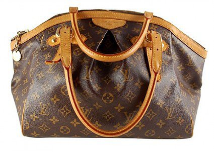 very good (VG) Louis Vuitton Monogram Canvas Tivoli GM Tote Bag