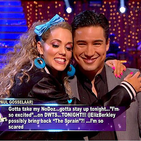 Elizabeth Berkley I'm So Excited Dancing With the Stars