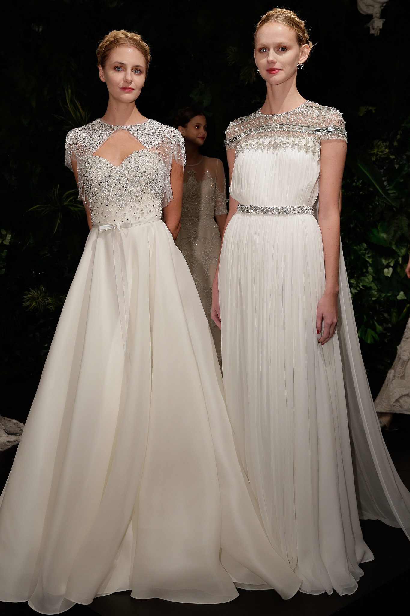 Naeem khan bridal fall 2014 weddings dream dresses from for Naeem khan wedding dress
