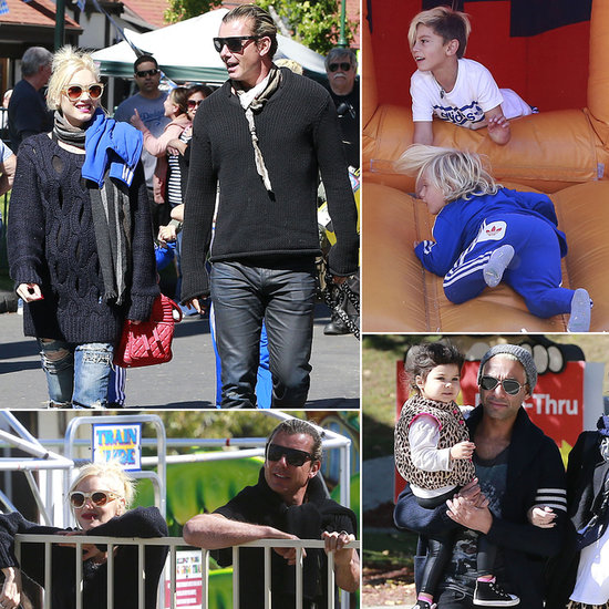 Gwen and Gavin Prove That Exes Can Be the Best Playdate Parents
