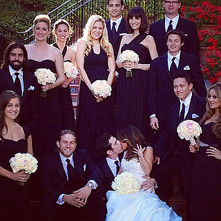 Charlie Hunnam at Friend's Wedding in October 2013