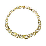 Alexis Bittar Fine Golden Ice Marquis Strand Necklace ($13,995) Photo courtesy of Alexis Bittar
