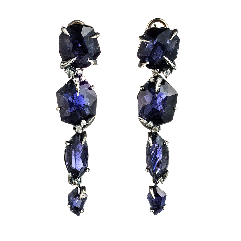 Alexis Bittar Fine Mystic Marquis Large Long Drop Post Earrings ($1,495) Photo courtesy of Alexis Bittar