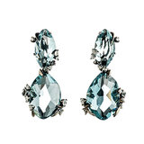 Alexis Bittar Fine Midnight Marquis Drop Post Earrings ($1,295) Photo courtesy of Alexis Bittar