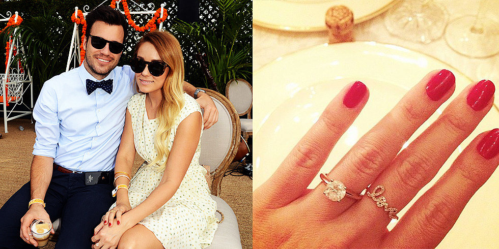 See Lauren Conrad's Gorgeous Engagement Ring