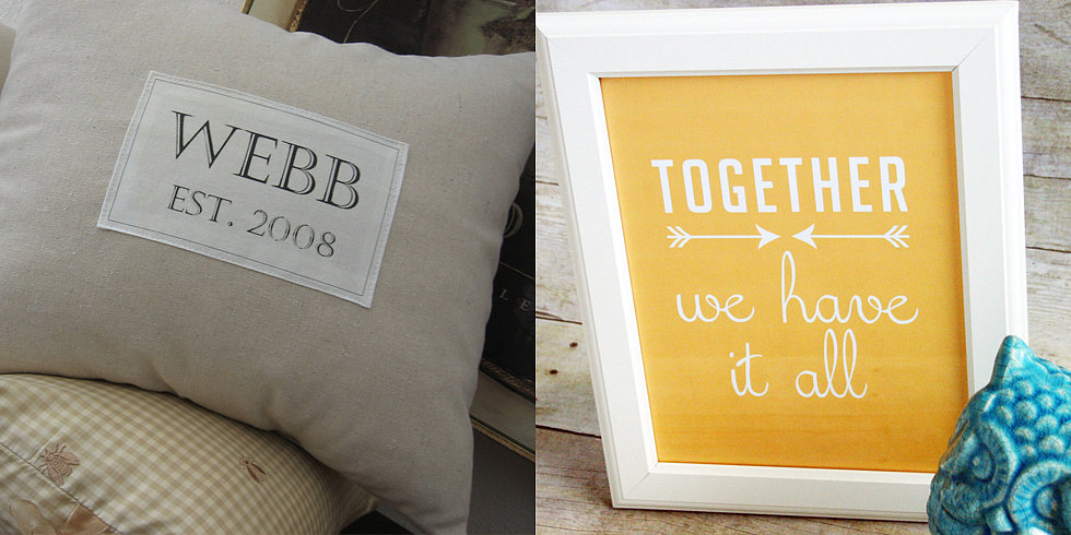11 Cool Ways to Showcase Your Family Mantra