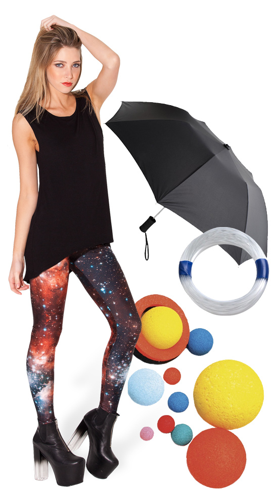 diy solar system dress - photo #23