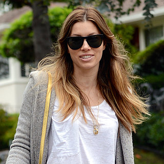 Jessica Biel With Her Dogs in Studio City
