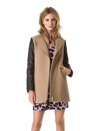 If you're the type of girl who will live in one coat this season, pick a versatile style like this Club Monaco option ($397, originally $529) that will work with both black and tan.