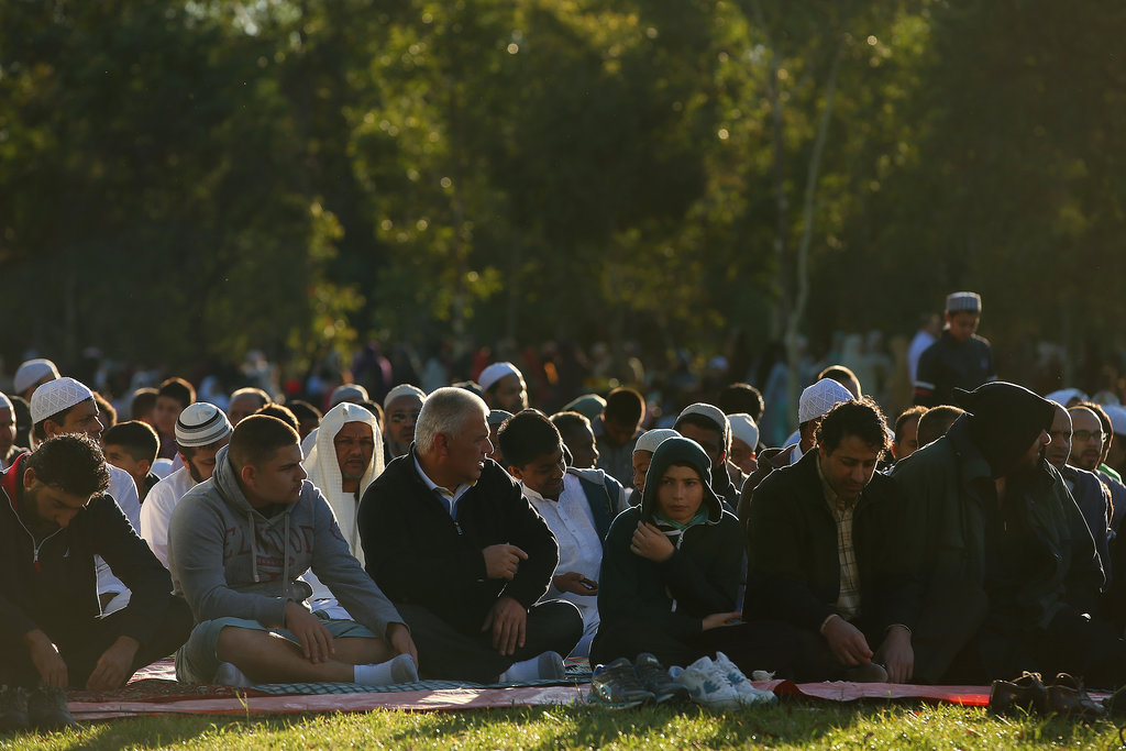 Eid al-Adha brought Muslim worshippers together in Sydney, Australia.