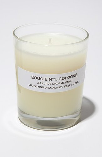 A.P.C. 'Bougie Cologne' Scented Candle