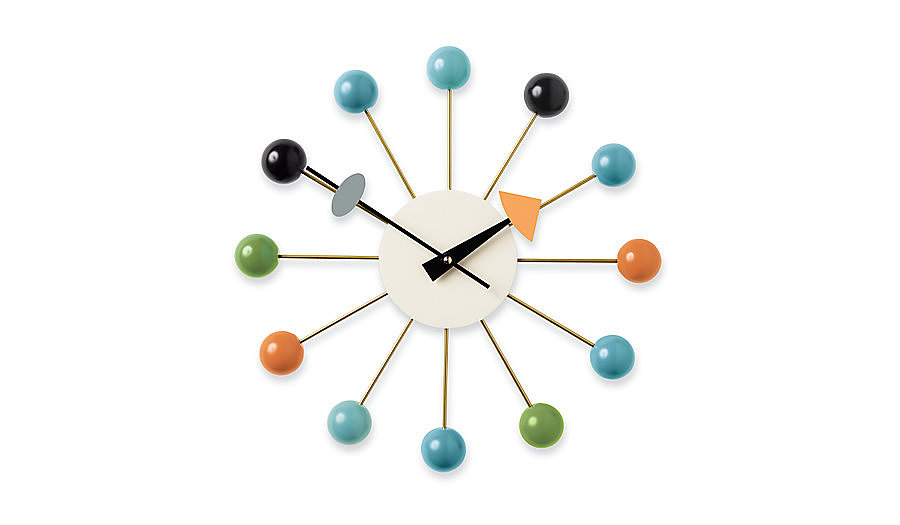 Perhaps the best thing to ever come of a dinner party, the Nelson Ball Clock ($319-$366, originally $375-$430) is the result of four designers scribbling on a paper napkin after having a bit too much to drink. Cheers, indeed!