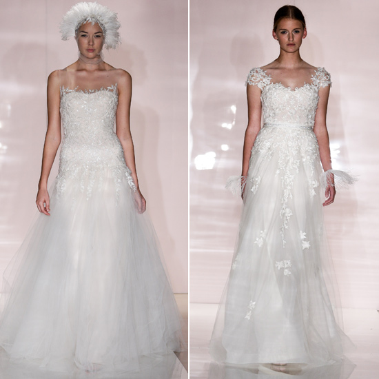 Nice Day For a Pink Wedding Autumn 2014 Bridal s Most Shocking
