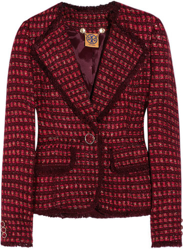 Tory Burch Victory tweed jacket