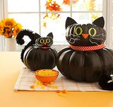Stacked Cat Pumpkins