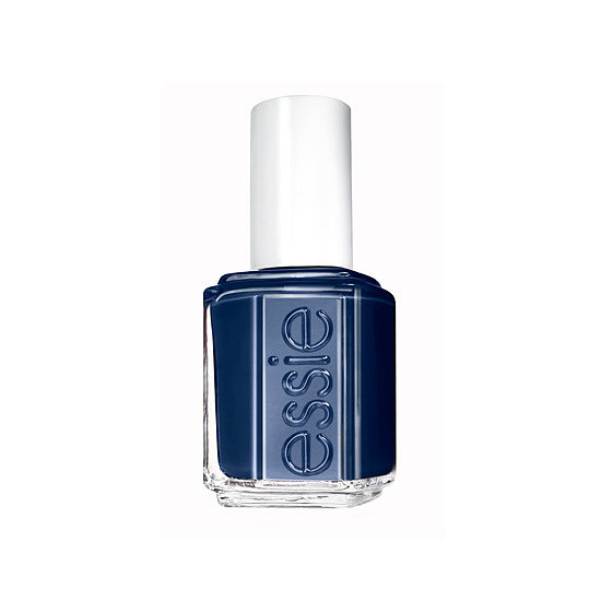 Dark manicures are always in this time of year, but try something a little unexpected like this rich navy named Essie After School Boy Blazer ($8) instead.