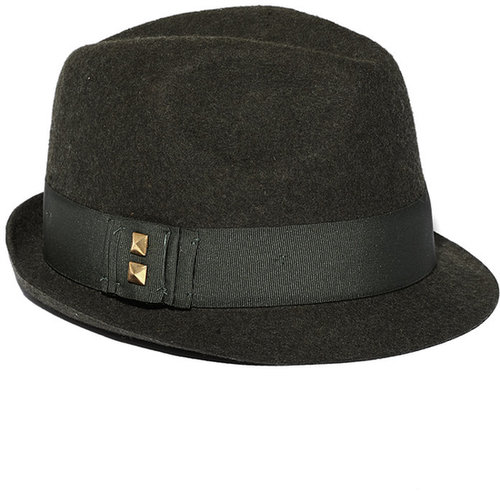 Small Brim Heather Fedora