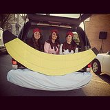 How fun and creative is this banana split trunk?  Source: Instagram user jennah_dowell