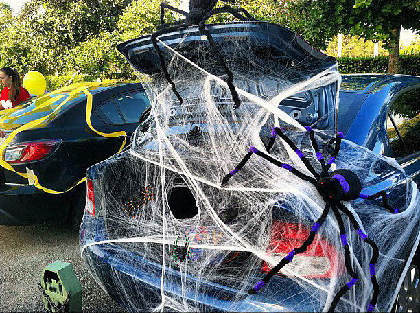 Who knew tarantulas and spider webs could look this good?  Source: Instagram user amberstraway
