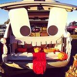 A monster trunk is a guaranteed showstopper.  Source: Instagram user chels_martinez