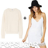 Robe nuisette et gros pull, on adore !!!