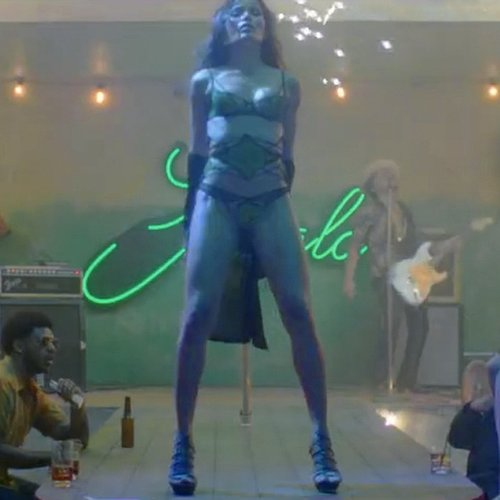 "Freida Pinto in Bruno Mars ""Gorilla"" Music Video"