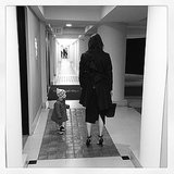 Who's that? It's Instagram's newest snapper: Carine Roitfeld. Source: Instagram user carineroitfeld
