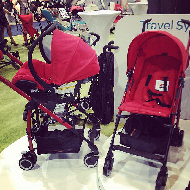 Maxi-Cosi is introducing an umbrella stroller — the Kaia. It's a complete travel system.