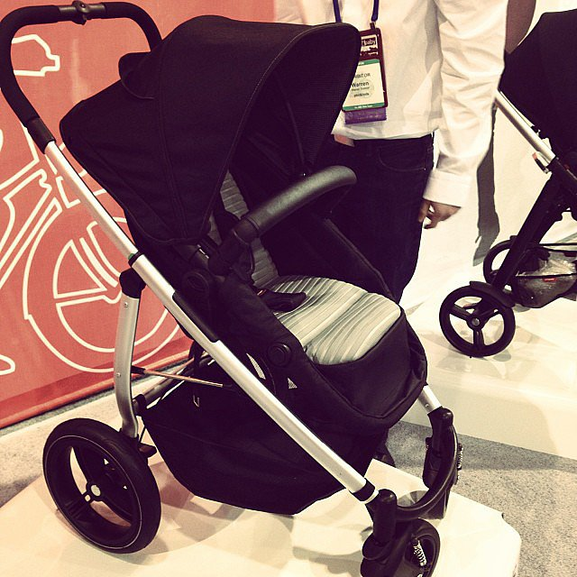 Phil & Teds is introducing an umbrella-like stroller, the Smart Luxe. The seat converts into a bassinet.