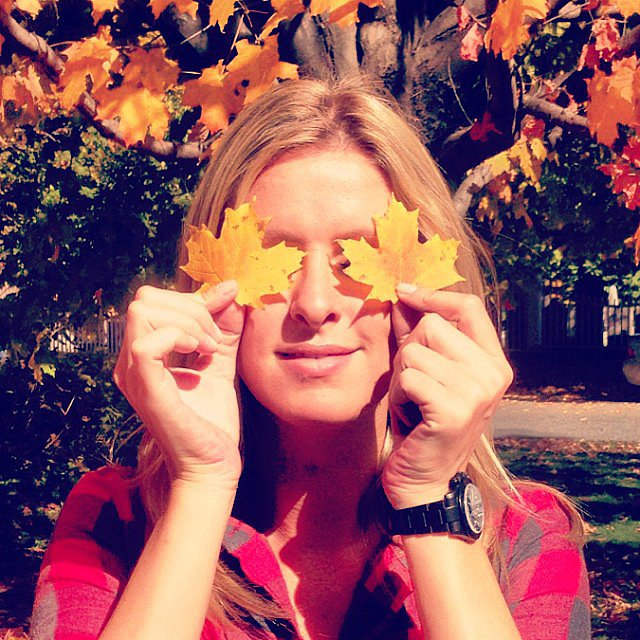 Nicky Hilton made the most of a crisp Fall day. Source: Instagram user nickyhilton