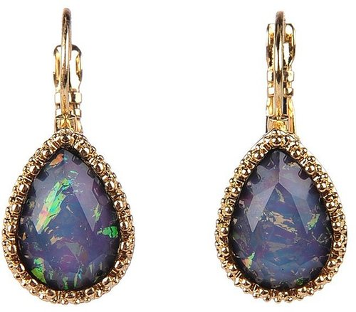 Lori's Shoes Iridescent Stone Earring
