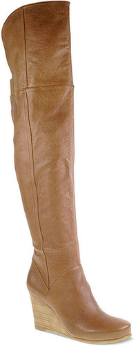 Chinese Laundry Shoes, Vera Cruz Over the Knee Wedge Boots