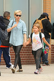 Michelle Williams and Matilda Ledger walked down the street together.