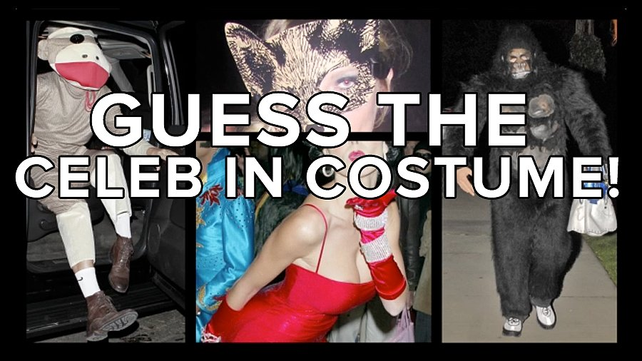 Boo! Who's the Celebrity Behind the Spooky Costume?
