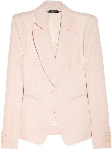 Alexander McQueen Wool-crepe blazer