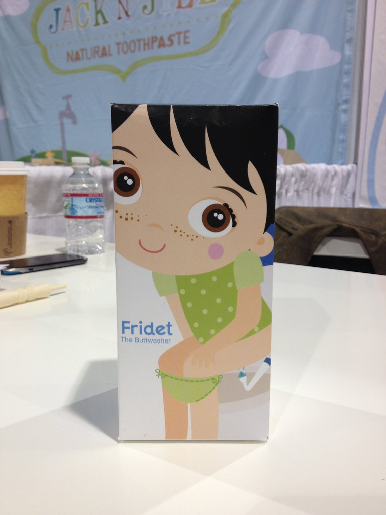 Fridababy — best known for its NoseFrida Snotsucker — will introduce the Fridet, a portable bidet for potty training tots, next year.