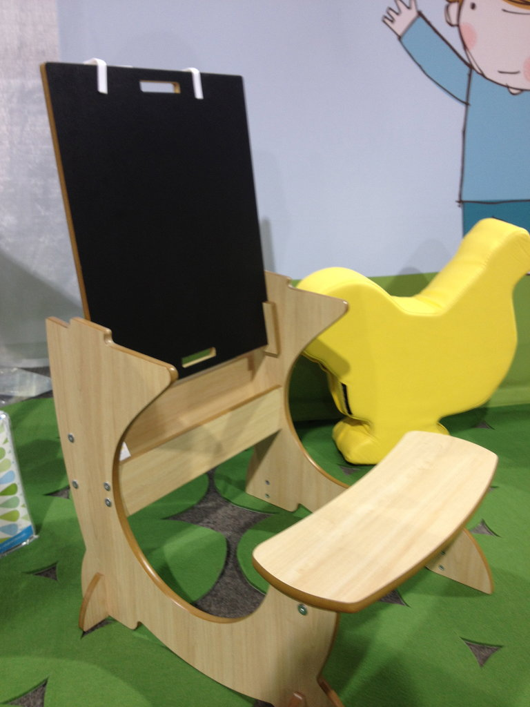 Luca & Co. will enter the toddler furniture area with this cool Art Desk.