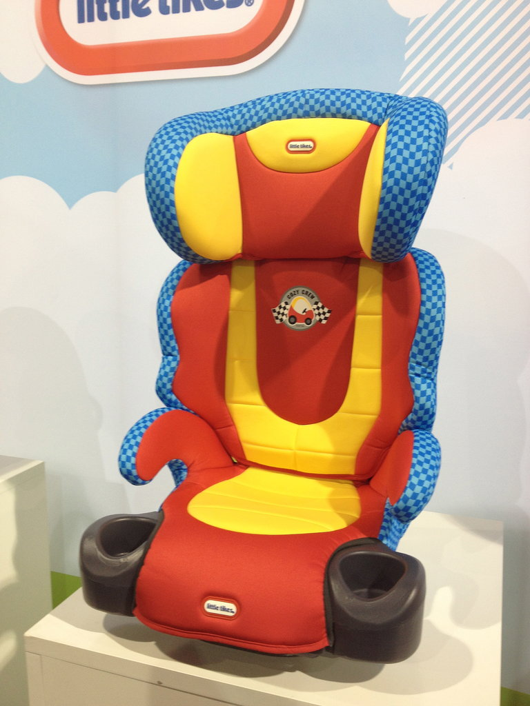 The Diono Little Tikes Booster Seat brings the iconic Cozy Coupe into the car.