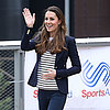 Kate Middleton Striped Shirt and Jeans