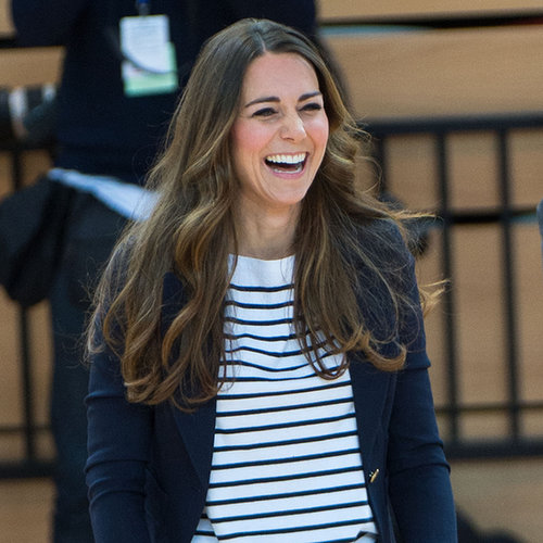 Kate Middleton Playing Volleyball | Pictures