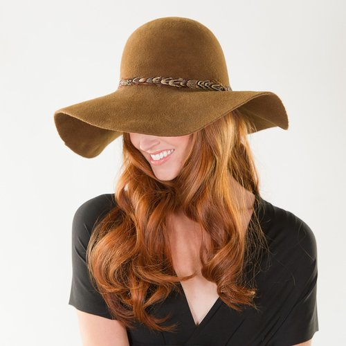 Preston & Olivia Floppy Wool Hat For Fall | Review
