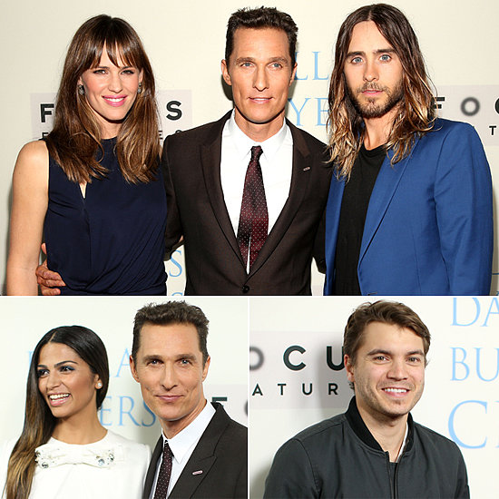The VIP Members of the Dallas Buyers Club Premiere Their Buzzy Film