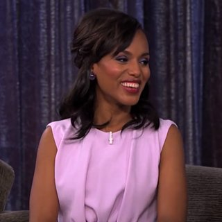 Kerry Washington on Jimmy Kimmel Live! | October 2013