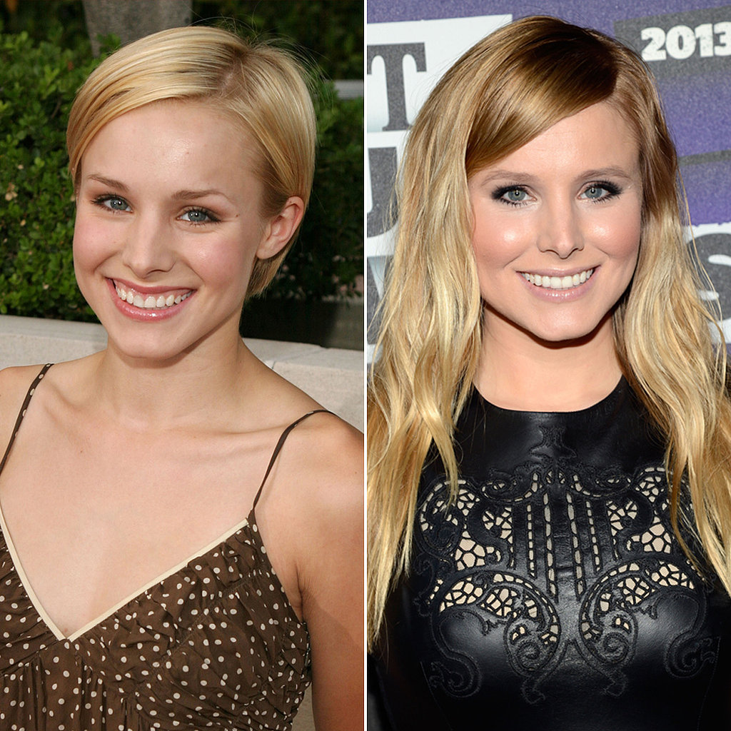 Newlywed Kristen Bell's Beauty Evolution