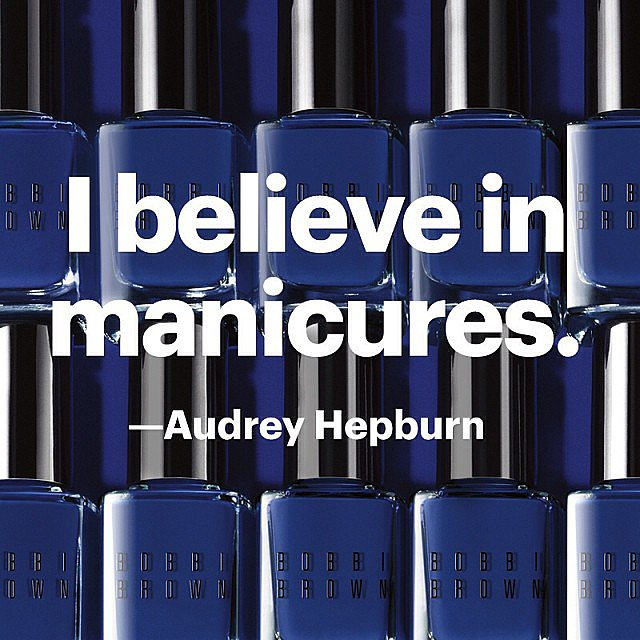 Bobbi Brown shared this relatable beauty quote this week. Source: Instagram user bobbibrown