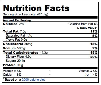 Apple Cinnamon Quinoa Breakfast Bake | POPSUGAR Fitness