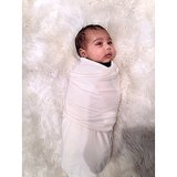 "Kim Kardashian shared a photo of her ""little angel"" North West. Source: Instagram user kimkardashian"