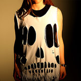 DIY: Cool Skull Tee for Halloween