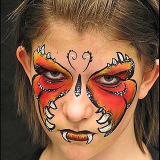 15 Easy Last Minute Halloween Costume Face Paint Ideas